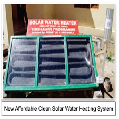 Solar Water and Space Heating Panels